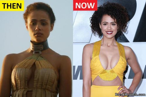Game of Thrones Nathalie Emmanuel (Missandei) then and now (10 pics)