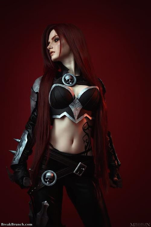 Katarina cosplay by Chris Volkova