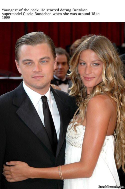 Leonardo DiCaprio only dates girls under 25 - BreakBrunch