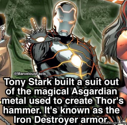 36 facts about Marvel superheros