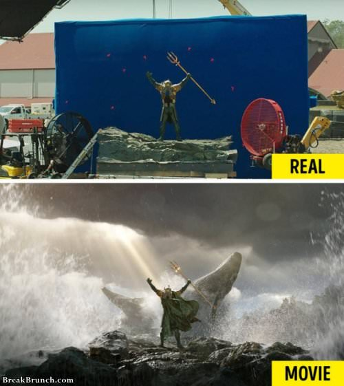 20 movies scenes without special effects
