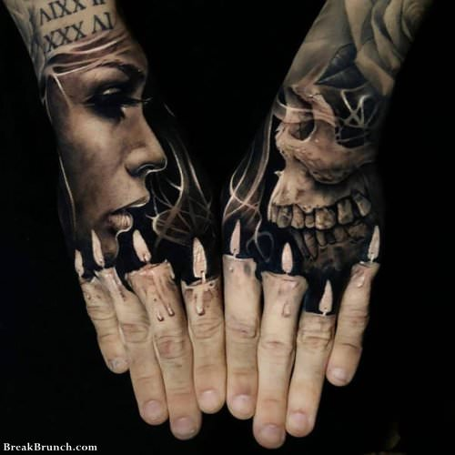 Unbelievable Face Tattoos | Grunf