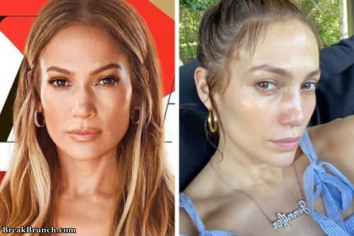 How female celebrities really look without photoshop