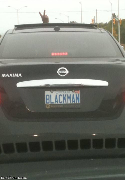 License Plate Names