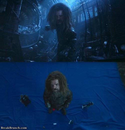Who Infinity War looks like without CGI (18 pics)