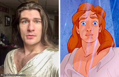 15 People Who Look SO MUCH Like Disney Princesses | TheTalko