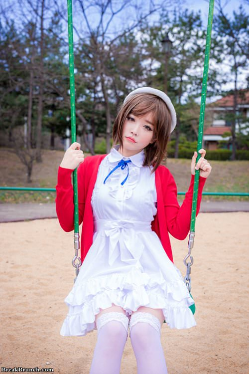 Cute cosplay picture for Saekano: How to Raise a Boring Girlfriend (6 pics)