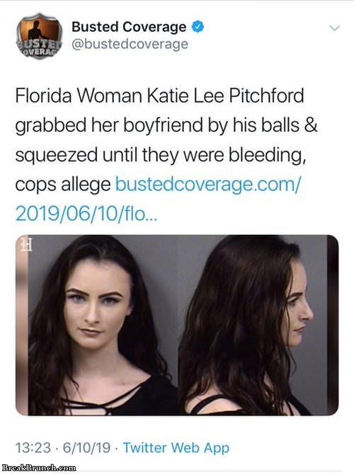 Florida woman again