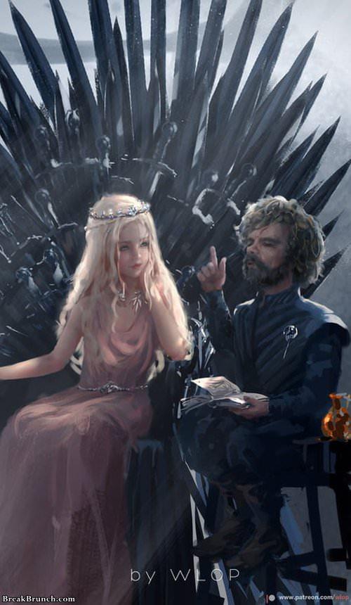 Lyanna Targaryen, daughter of John Snow and Daenerys Targaryen
