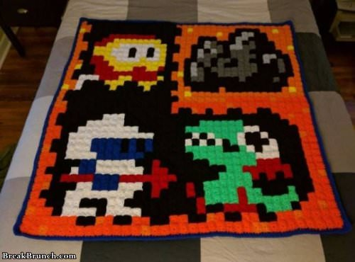 14 awesome blankets for gamers