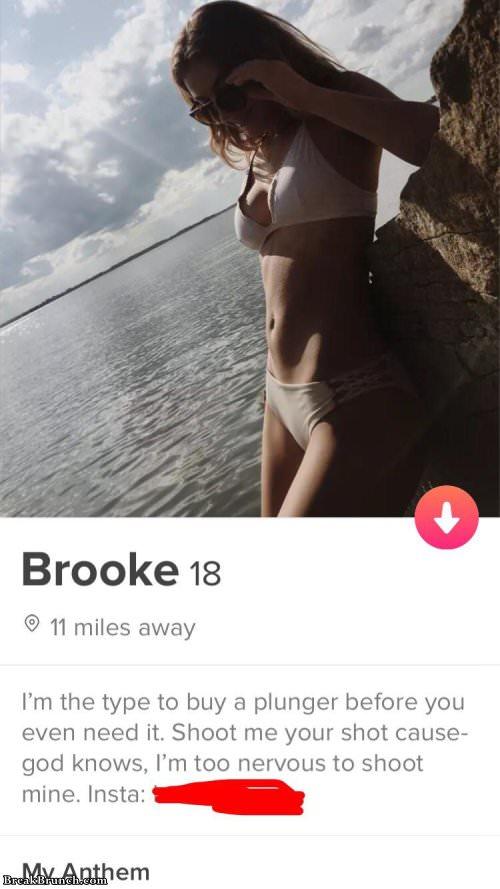 Tinder profiles slutty BEST Tinder