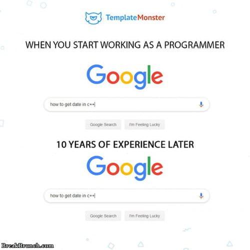 When you are a developer