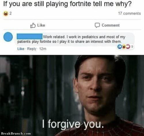Why I still play Fortnite