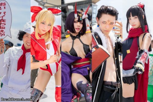 Best Japanese cosplay pictures from Summer Comiket 2019