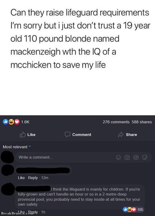 IQ of McChicken