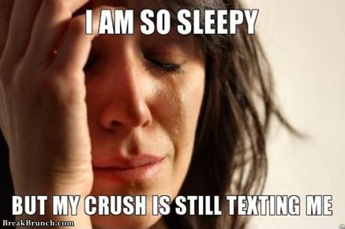 my-crush-keep-texting-me-when-im-sleepy-funny-meme-picture