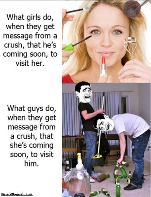 what-girls-and-guys-do-when-crush-is-visiting-funny-girls-vs-guys-picture