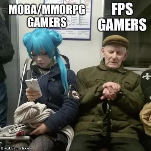 gamers come in many forms