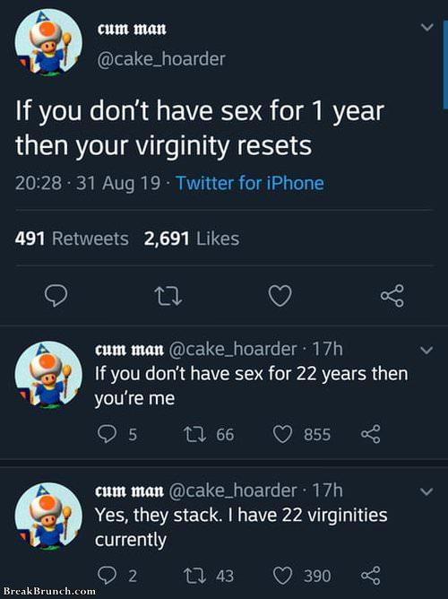 Virginity stack