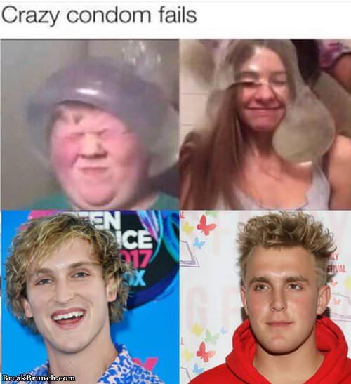 Crazy condom fails