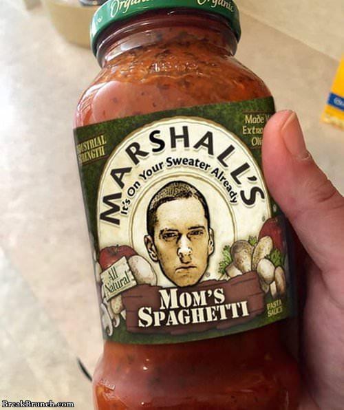 Eminem spaghetti sauce