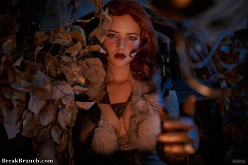 Sexy Triss Merigold cosplay by Lada Lyumos from The Witcher(12 pics)