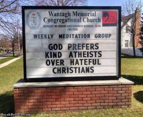 Awesome signs from church (19 pics)