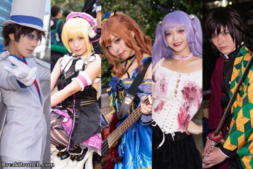 19 best cosplay pictures from Ikebukuro Halloween Cosplay Fest 2019
