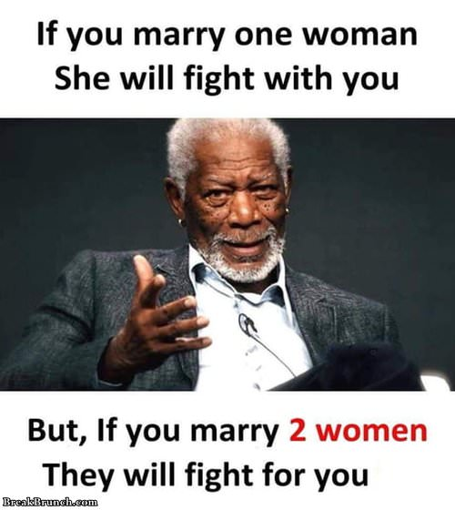 Why marry two women