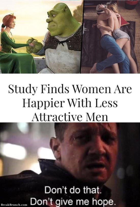 women-are-happier-with-less-atractive-men-111419