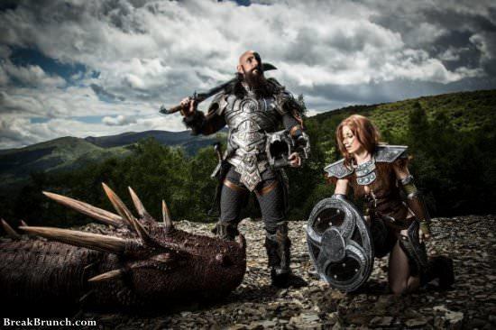 Epic Elder Scrolls Skyrim cosplay (7 pics)