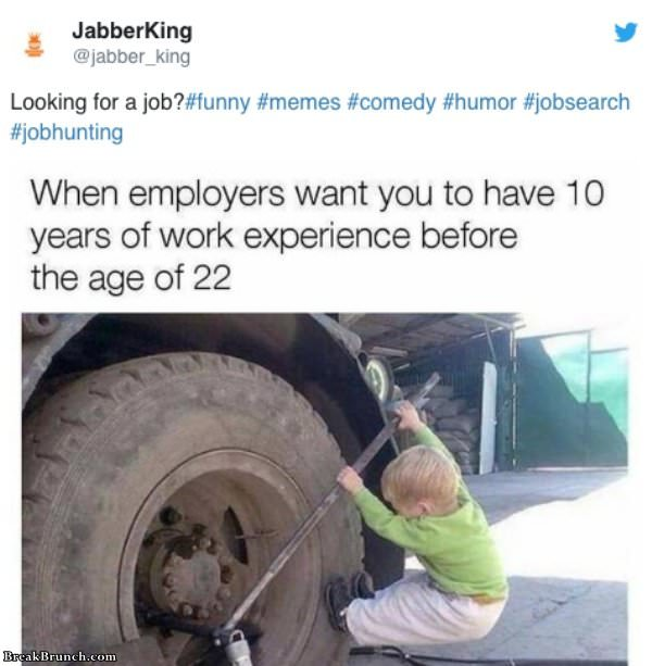 15 Funny Job Hunting Memes Breakbrunch