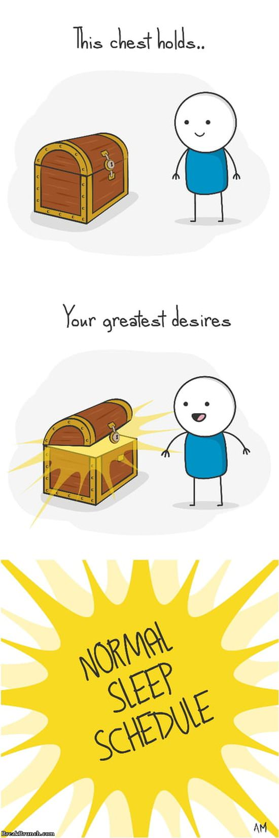 Chest with your greatest desires