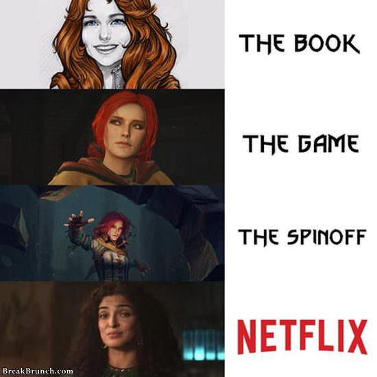 Netflix always has the worse version