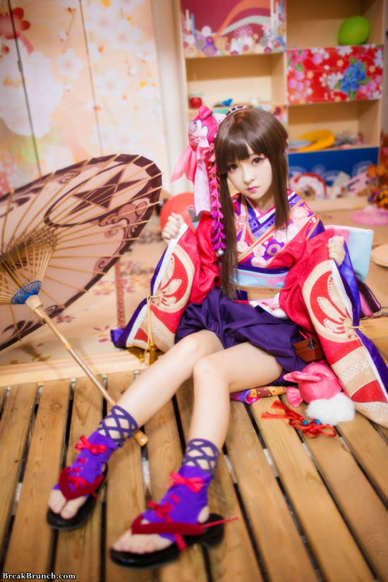 4 cute Onmyoji cosplay pictures by Usagi_RR_