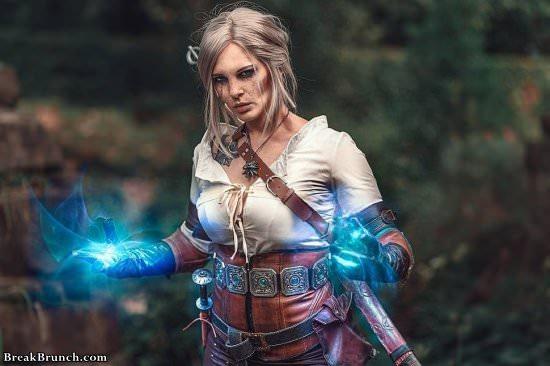 Witcher 3 Ciri cosplay by Monono (10 pics)