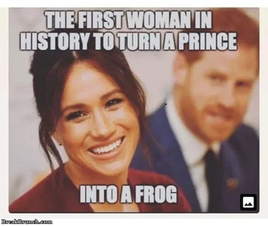 First woman to turn a prince into a frog