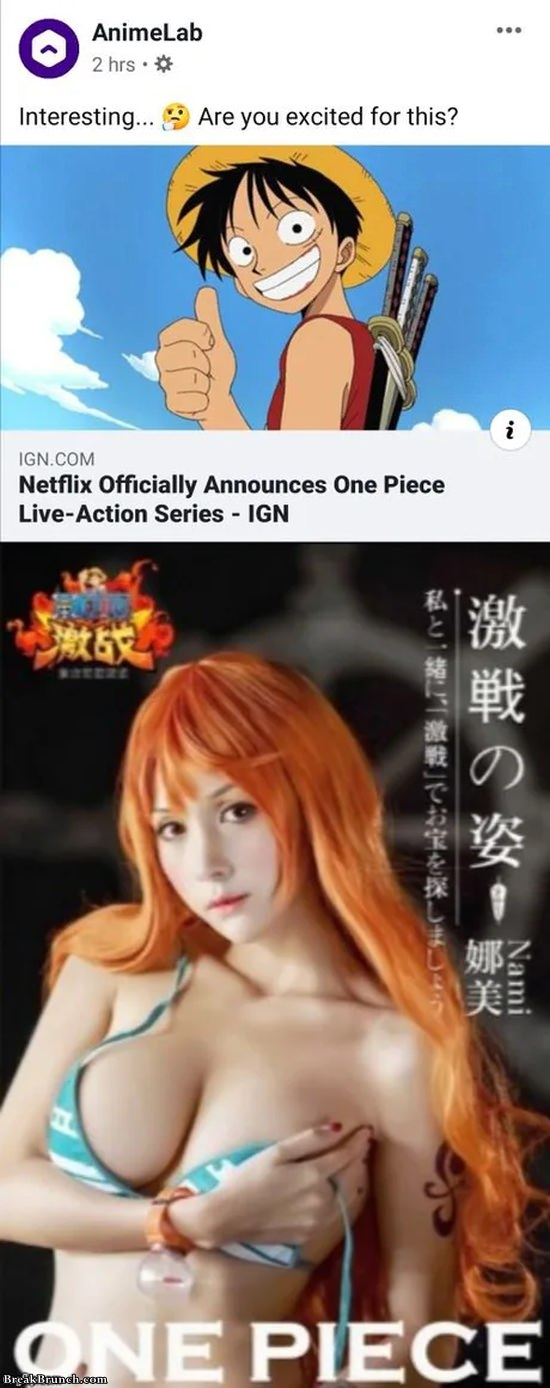 Nerflix announce One Piece series