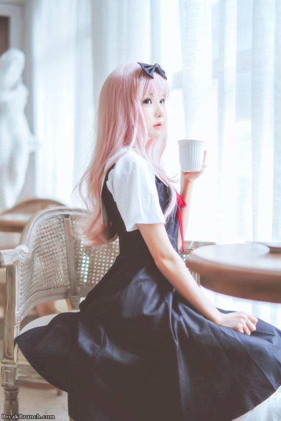 10 true to life Chika Fujiwara cosplay by CherryNeko