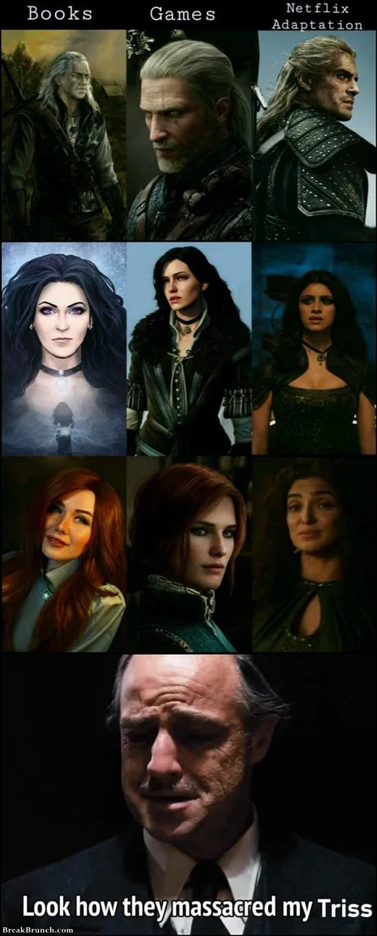 Netflix ruined Triss merigold
