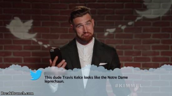 15 NFL players reading mean tweets about them