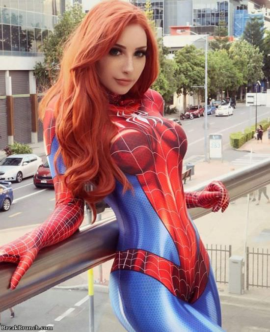 Amazing Spider Girl cosplay by Beke Jacoba (7 pics)