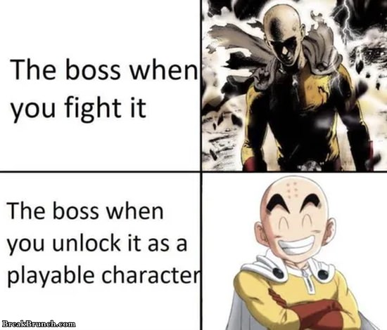 Game boss logic