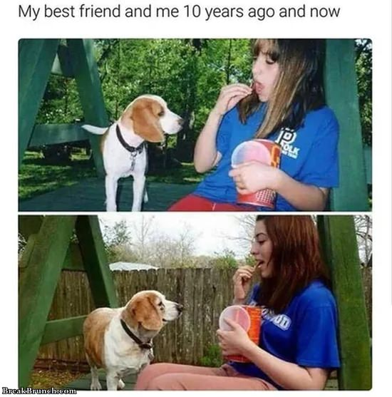 Friendship over 10 years