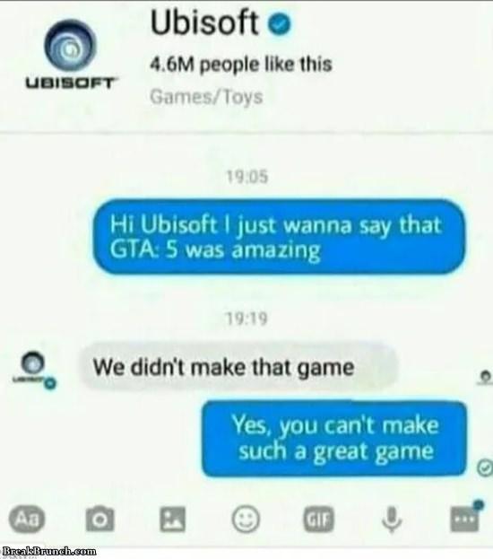 Ubisoft can't make good game