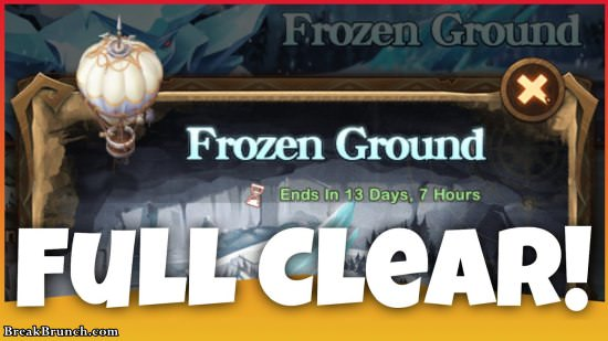 AFK Arena guide on how to 100% clear The Frozen Ground (Voyage of Wonders)