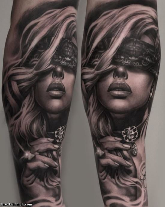 32 amazing full arm tattoos