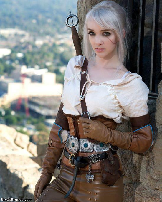 Amazing Ciri Witcher 3 cosplay by Lyz Brickley (9 pics)