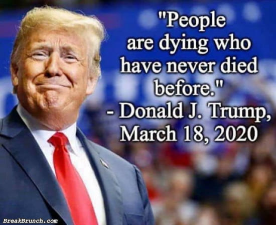 People are dying who have never died before