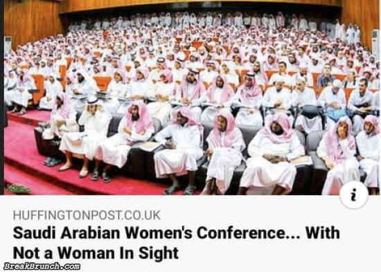Saudi Arabian women's conference